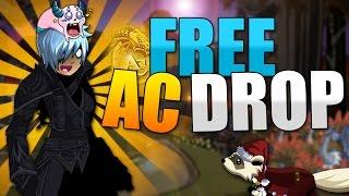AQW FARMING 1% DROP FREE AC BLADE and some LEGION TOKEN GEAR - AdventureQuest Worlds