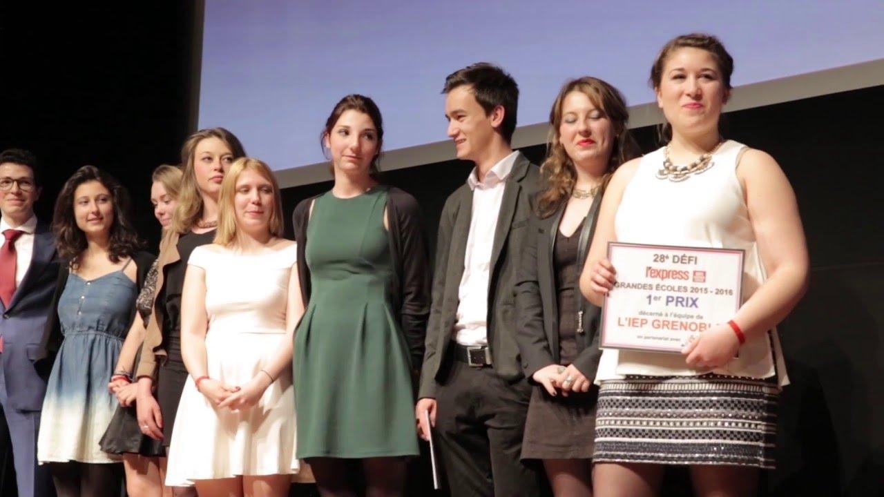 28ème Défi L'Express Grandes Ecoles : La vidéo de la soirée de remise des prix !