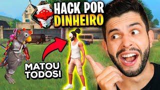 O LADO ESCURO DO FREE FIRE?!? OS HACKS PASSARAM DOS LIMITES NA RANQUEADA...
