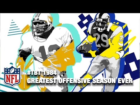 The Greatest Offensive Season in NFL History? | Marino & Dickerson | NFL Highlights