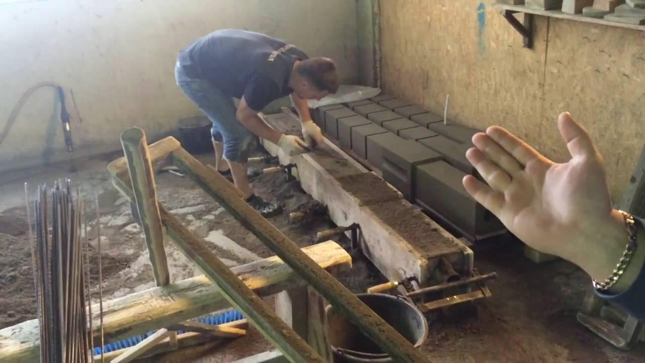 Изготовление столбов своими руками фото 287