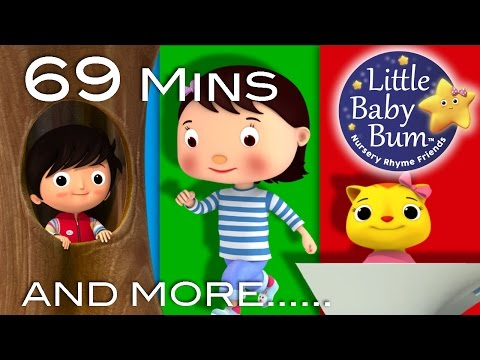 Where Did You Go | Plus Lots More Nursery Rhymes | 69 Minutes Compilation from LittleBabyBum!