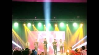 SMASH - Ada Cinta - at Showcase Malaysia 27 Des 2013