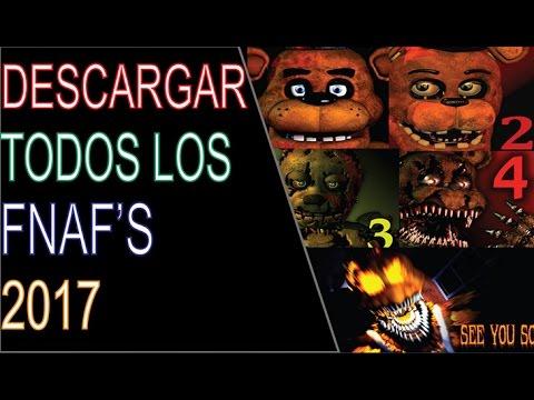 Descargar e Instalar Five Nights At Freddy's 1, 2, 3, 4 (Halloween Edition DLC) Full Para Pc 2017