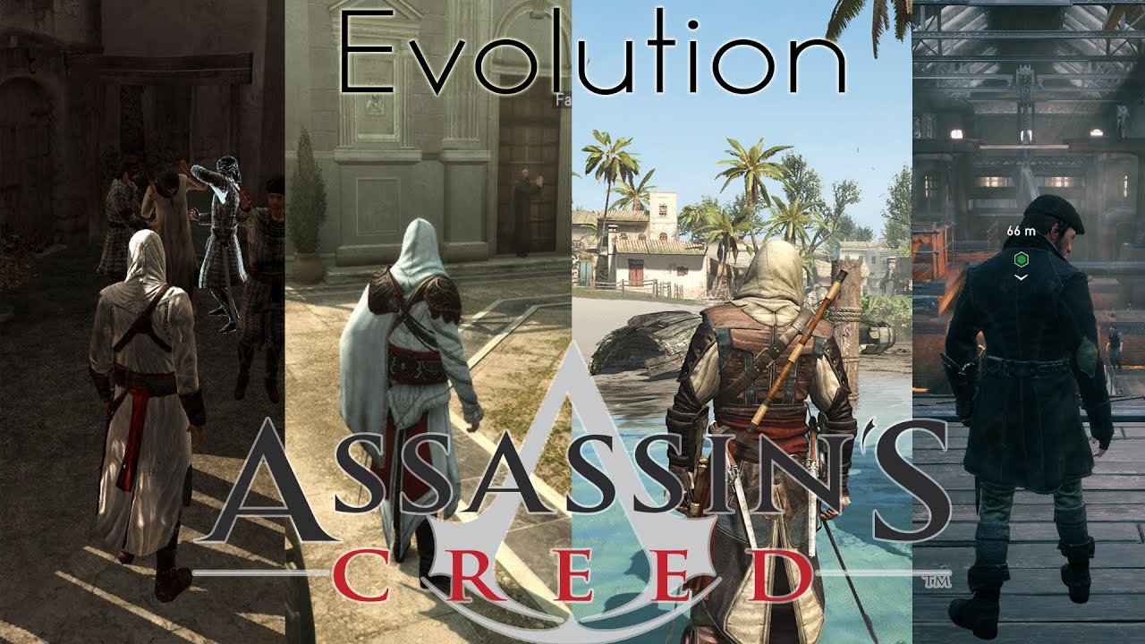 The Evolution Of Graphics: Assassin's Creed - YouTube