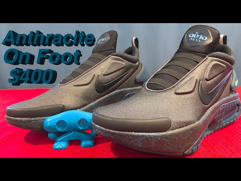 Anthracite Nike Adapt Auto Max Unboxing On Foot Everything Youtube