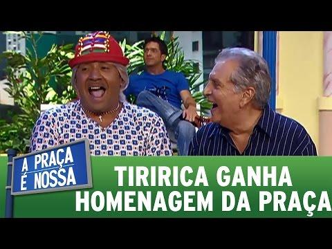 Tiririca deixa Cazalbé rindo MUITO | Praça Retrô (23/02/17)