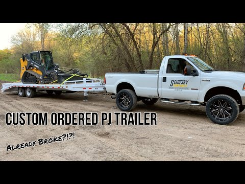 Custom PJ Trailer And It Already Broke...