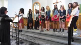 Choir singing Stairway to Heaven