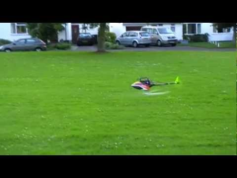Blade 300 vs Trex 250 RC Heli back to back flying comparison both AR7200BX showing flips invert tail