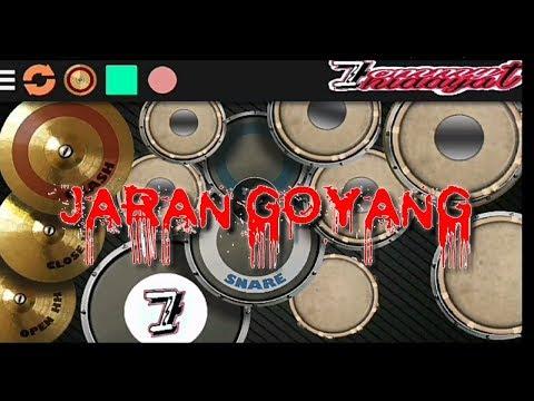 JARAN GOYANG versi real drum kendang android by 7ommy