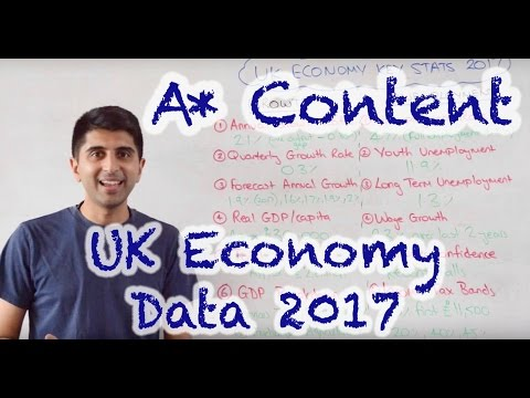 UK Economy Key Stats 2017 - Pathway to A*s!