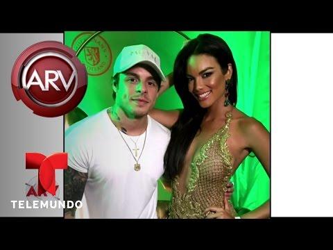Casper Smart y Zuleyka Rivera de fiesta en Miami | Al Rojo Vivo | Telemundo