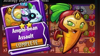 Amphi-Bean Assault Beta-Carrotina Strategy Deck | Plants vs Zombies Heroes Gameplay