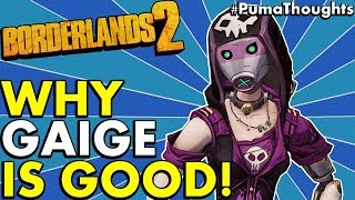 Borderlands 2: Is Gaige the Mechromancer a Fun and Good Character to Play Solo/Co-Op #PumaThoughts