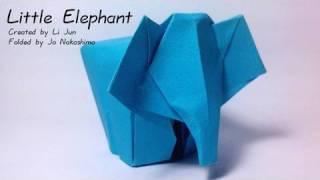 Origami Little Elephant (Li Jun)