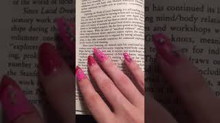 "ASMR Reading 📖 30 minutes 📖 ""Exploring the world of lucid dreaming"" 📜"