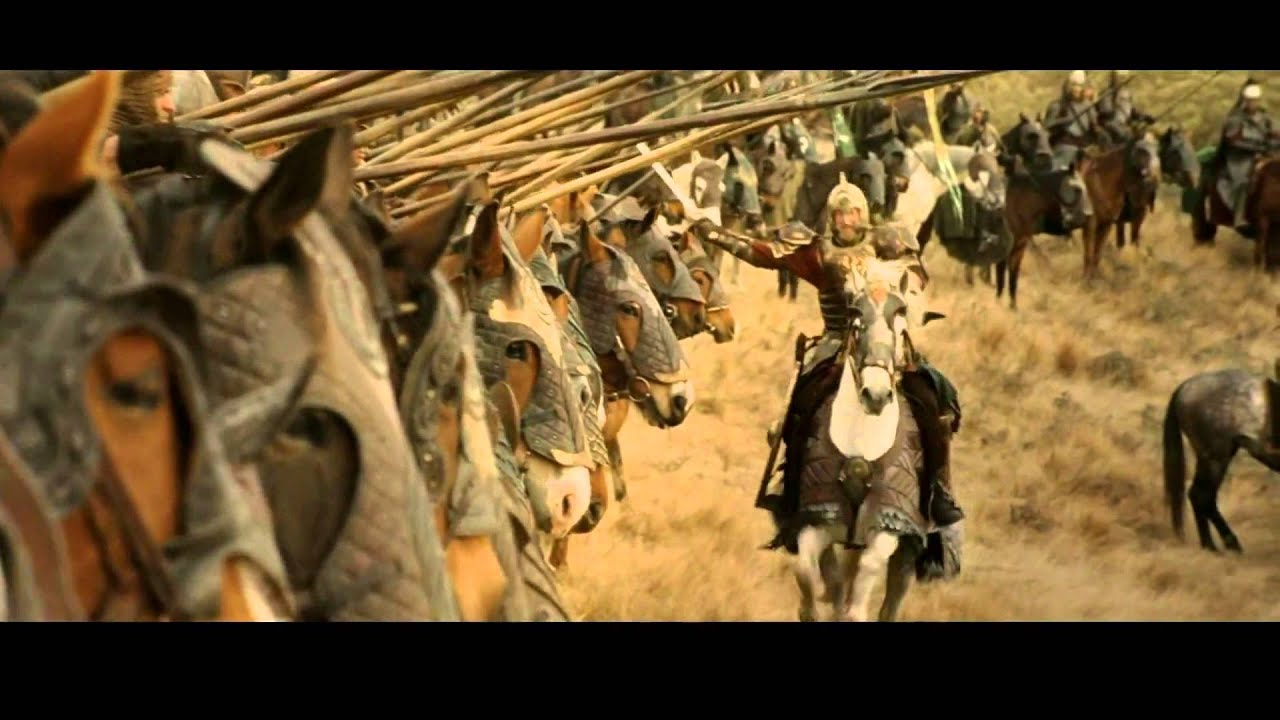 Lord Of The Rings Rohirrim Charge