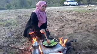 Kozak  Odun Topladım Odun Ateşinde  İftar Yemeği Hazırlad…