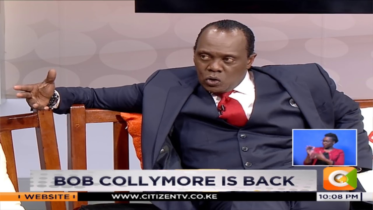 Image result for Jeff Koinange with Bob collymore