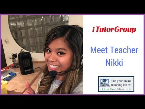 📺  Meet Teacher Nikki With iTutor Group 📺