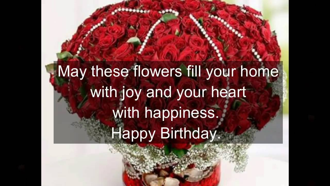 Happy Birthday Wishes With Beautiful RosesQuotesGreetingsBlessingsPrayersSmsWhatsapp Video