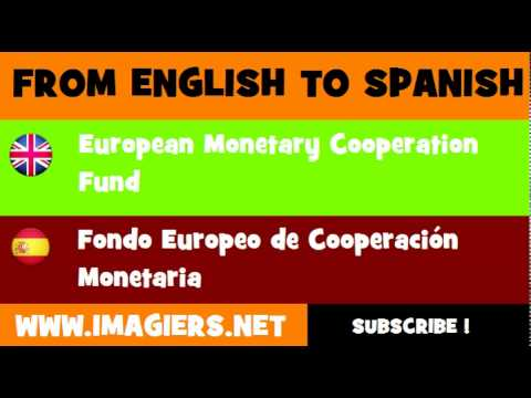 FROM ENGLISH TO SPANISH = European Monetary Cooperation Fund