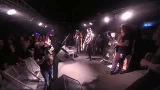 Sylosis & Wovenwar - Domination (Pantera Cover) live Underground, Cologne