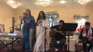 Dole dodul dole jhulona by Radha and Sahana