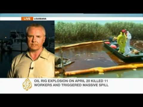 Slick from US oil spill reaches coastland