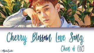 Chen  첸  Exo - Cherry Blossom Love Song  벚꽃연가  가사/lyrics  Han|rom|eng  100 Days