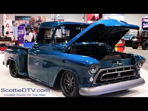 "1957 Chevrolet Pickup ""Montage"" The SEMA Show 2017"