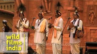 'Jangam Jogi', folk musicians of Haryana perform at Surajkund Mela