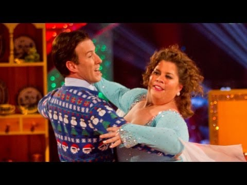 Katy Brand dances to 'It's The Most Wonderful Time Of The Year'  Strictly Come Dancing 2012  BBC
