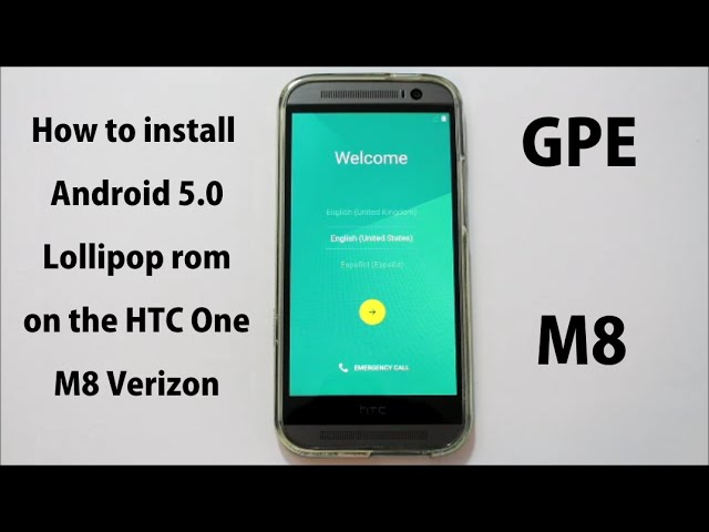 Android 5 0 1 Lollipop For HTC One M8, One M7: Downloads