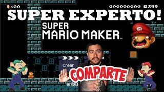 Super Experto Si me da la gana me lo skipeo #4 Super Mario Maker