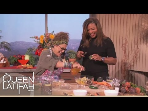 Chef Susan Feniger Makes A Tasty Meal | The Queen Latifah Show