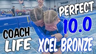 Coach Life: Gymnastics Perfect 10.0 ON VAULT!!| Rachel Marie