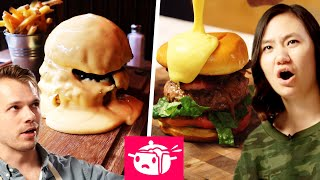 We Tried To Re-Create This Cheese-Covered Burger thumbnail
