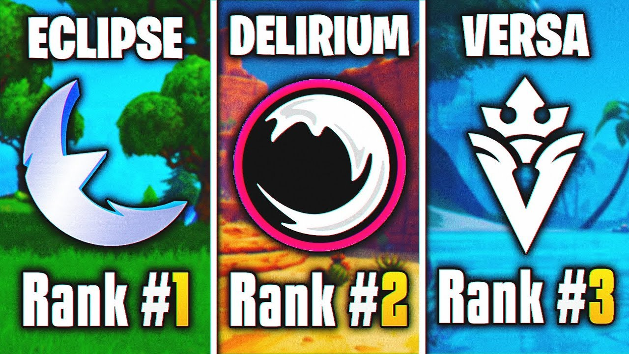 Download Ranking The Best Underrated Fortnite Teams! (Team Eclipse, Delirium & More!)