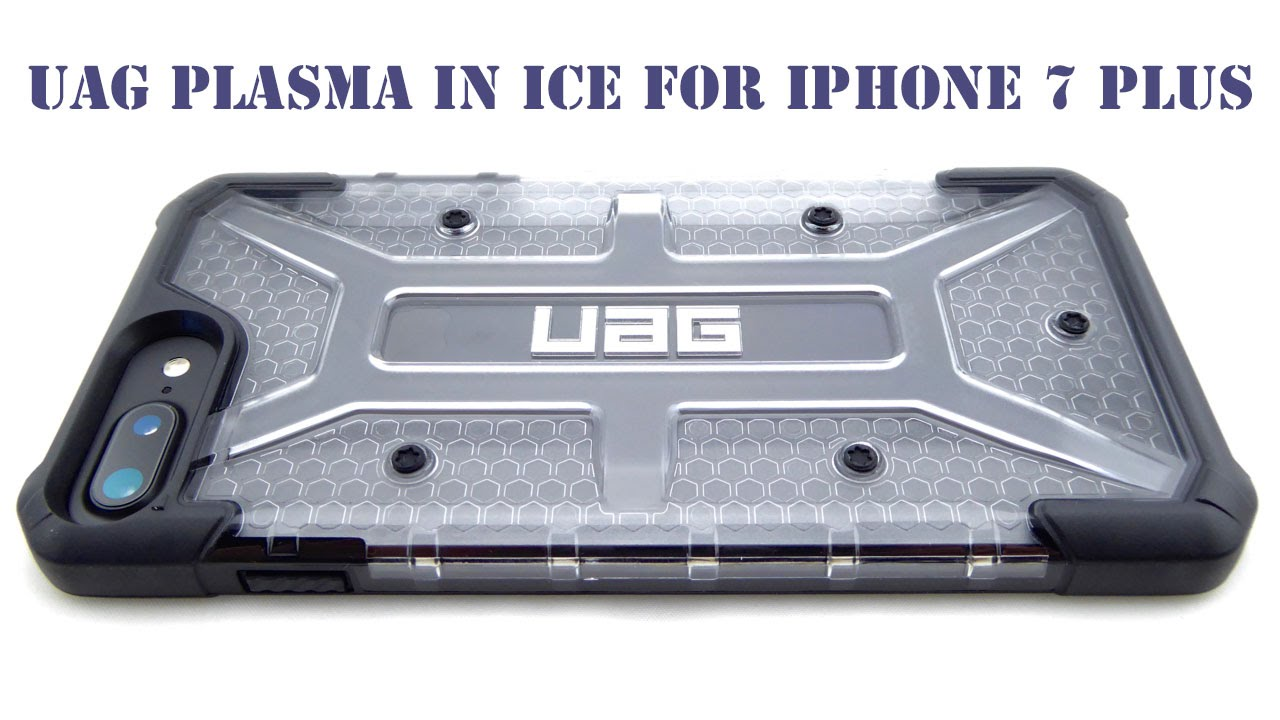 new concept 89e4b 90514 Show off your Black iPhone 7 Plus with the UAG Plasma in Ice!