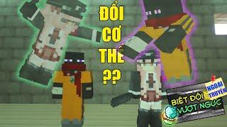 Minecraft Biệt Đội Vượt Ngục (Ngoại Truyện) - NẾU JAKI VÀ JASMINE ĐỔI CƠ THỂ CHO NHAU 👮 vs 👻