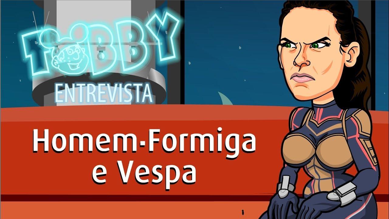 Tobby: Homem Formiga é só formiga com a Vespa!
