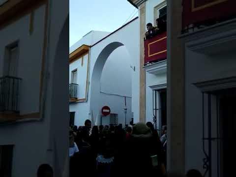 Bandas ccytt santa maria la granada lunes santo 2019 hermandad de los remedios (Moguer)