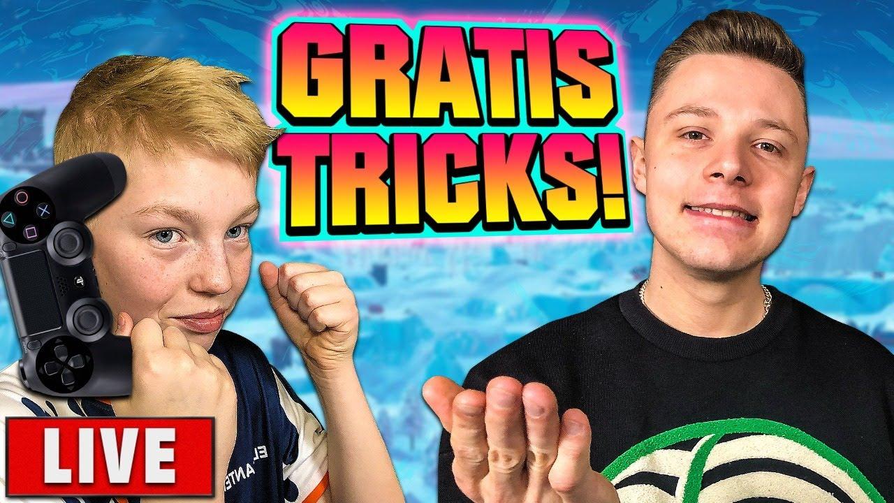 LIVE: Deqzy afslører sine VILDESTE tricks i Fortnite!