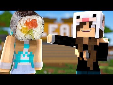 Minecraft: A JUW VIROU UM SUSHI NESSE VÍDEO?! (Coelha)