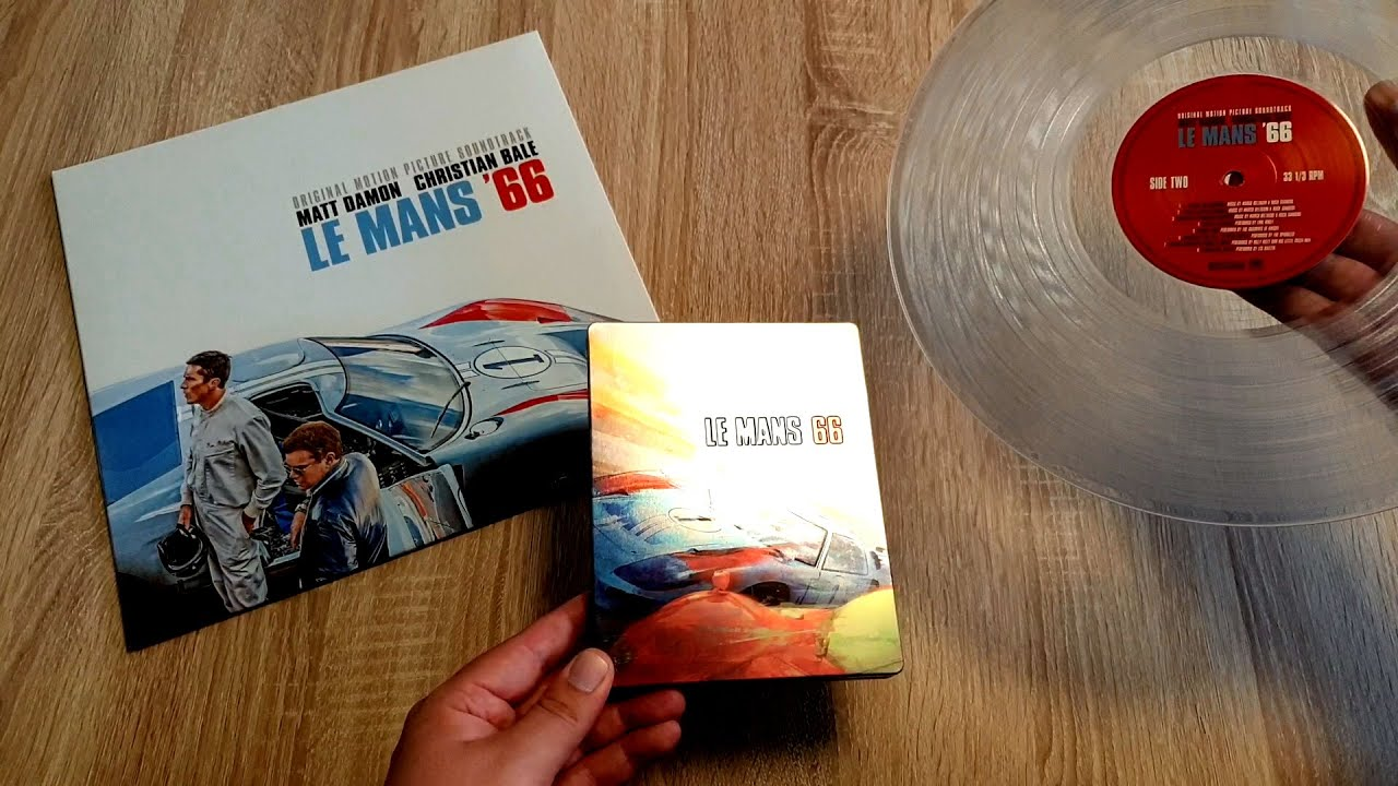 Le Mans 66 Ford V Ferrari Limited 4k Blu Ray Steelbook Soundtrack Vinyl Lp Bale Damon Mangold Youtube