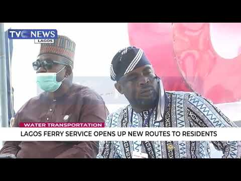 Lagos Ferry Service Opens Up New Routes For Residents