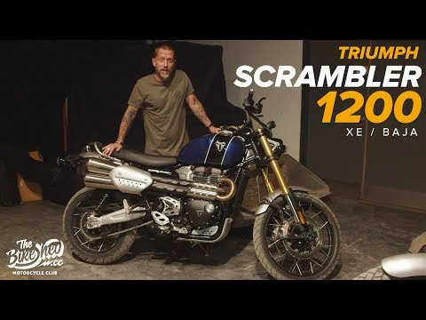 First Look! Triumph 1200 Scrambler XE
