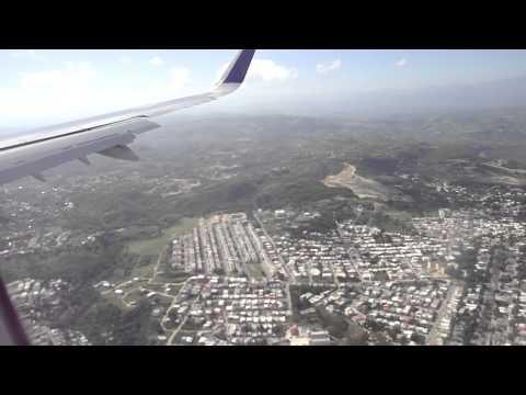 Jetblue aterrizando Santiago, Dominican Republic